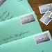 Ocean Inspired Letterpress Magnet Save the Date