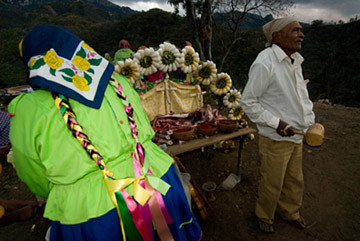 Tarahumara altar | by Chef Zarela Martinez