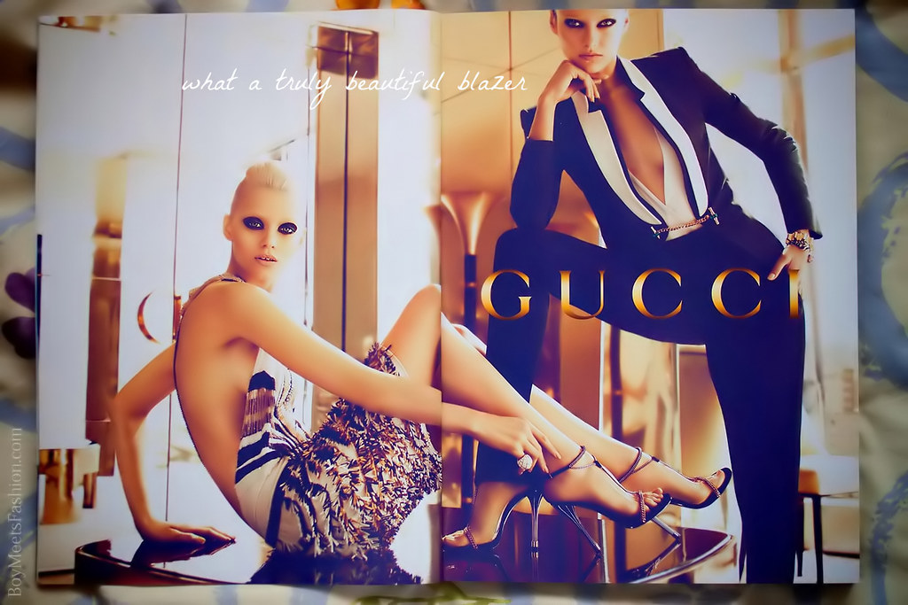 Summer  Gucci Fashion Ad