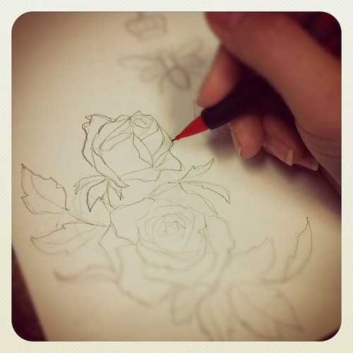 Sketches in the works... | by Urban Threads