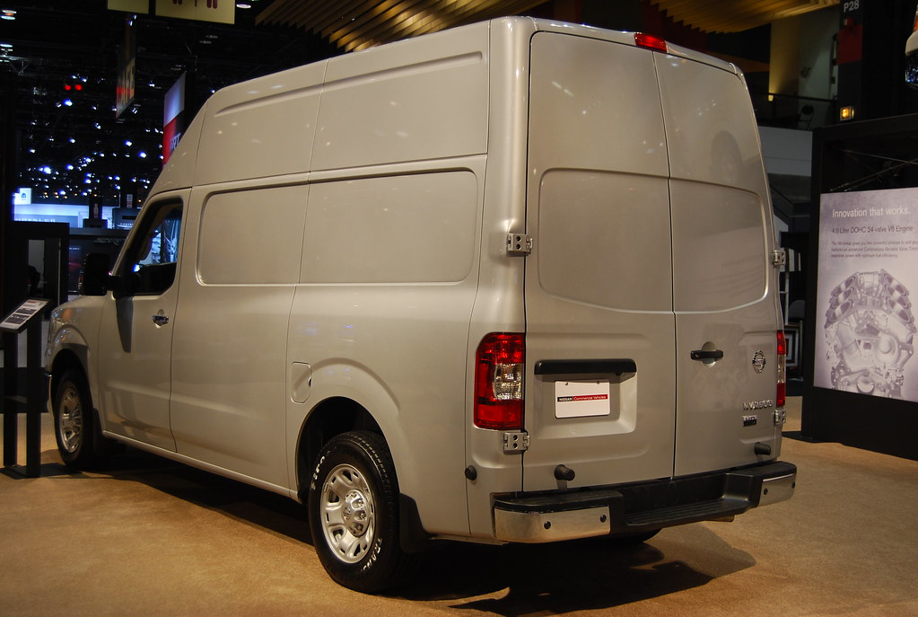 Nissan Nv 2500 Cargo Van High Roof At A Time When