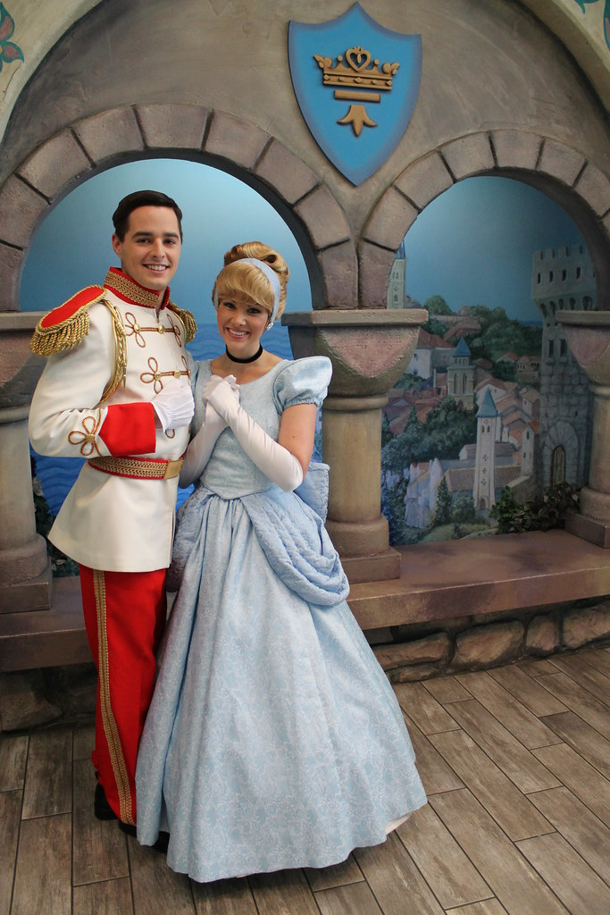 Meeting Cinderella And Prince Charming On February 14
