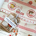 merry bonbon airmail fabric fat quarter