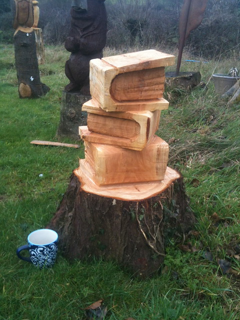 Books chainsaw carving flickr photo sharing