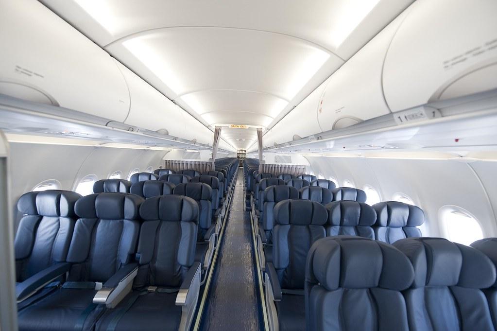 sata internacional airbus a320 interior keeping travel