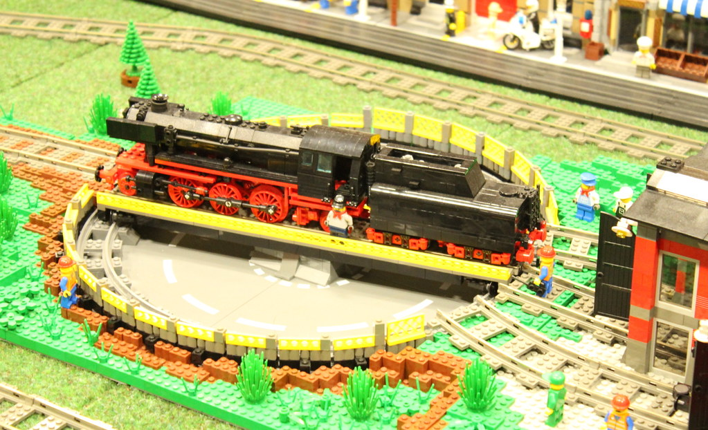 Lego Train Turntable Some Good Lego Notes Here Www