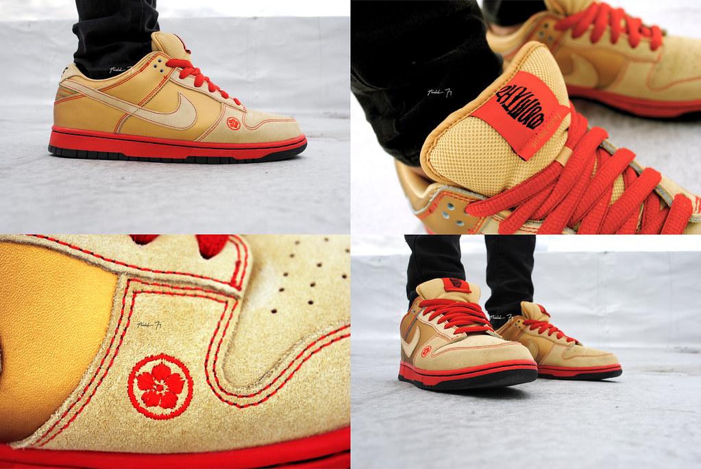 buy popular b7397 f4e8a Money Cat Lows Nicholas Fung Flickr Nike SB Dunk ...
