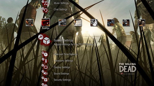 The Walking Dead for PS3 (PSN): PS3 Dynamic Theme | by PlayStation ...