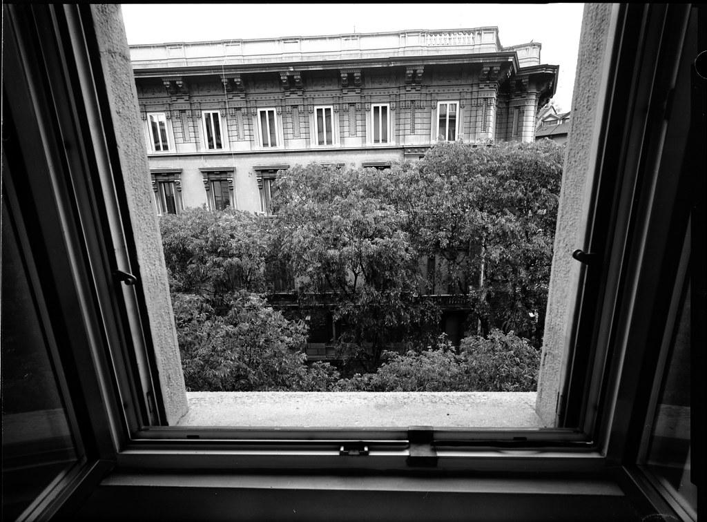 Dalla finestra una prova from my window a test first - Spiate dalla finestra ...