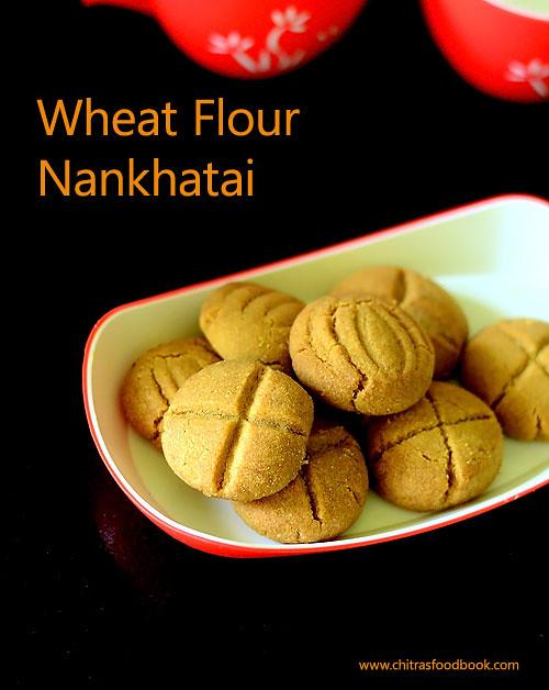 wheat flour nankhatai