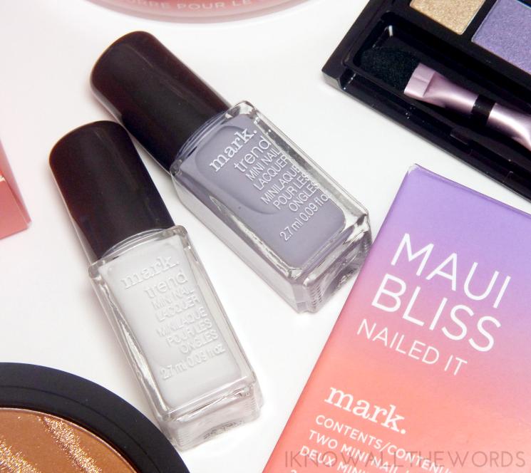 mark maui bliss nailed it mini nail lacquer cloud 9 and hula (1)