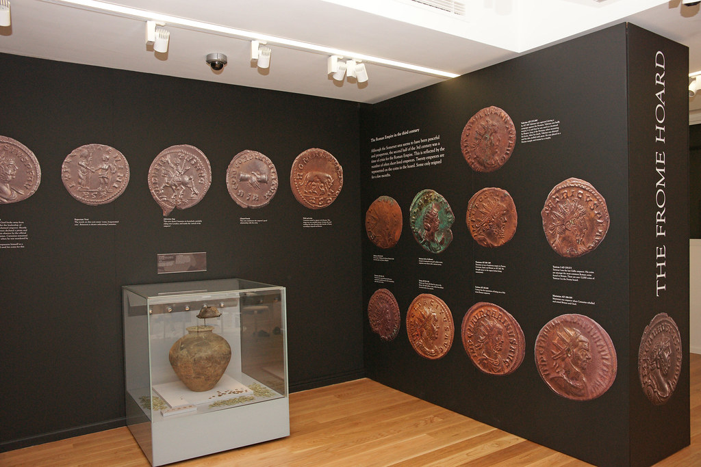 Frome Hoard on display at Museum of Somerset