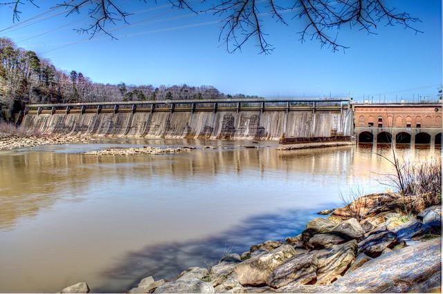Morgan falls dam the dam was originally constructed in for Morgan falls