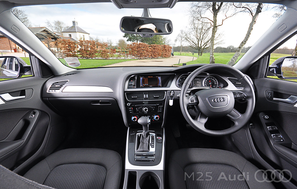 new audi a4 front interior both the driver and passenger o flickr. Black Bedroom Furniture Sets. Home Design Ideas
