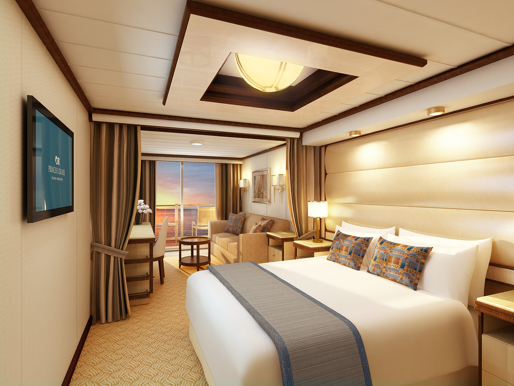 Royal Princess Mini Suite Substantially Larger Than A