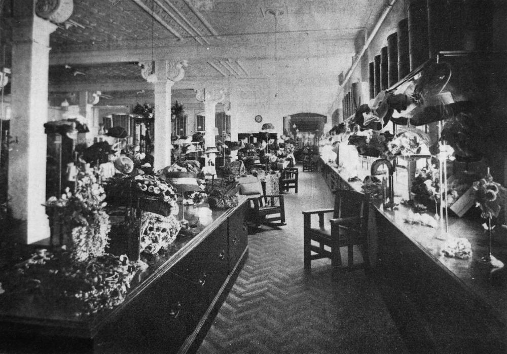 Interior Of Finney Isles Store Brisbane 1910 Creator