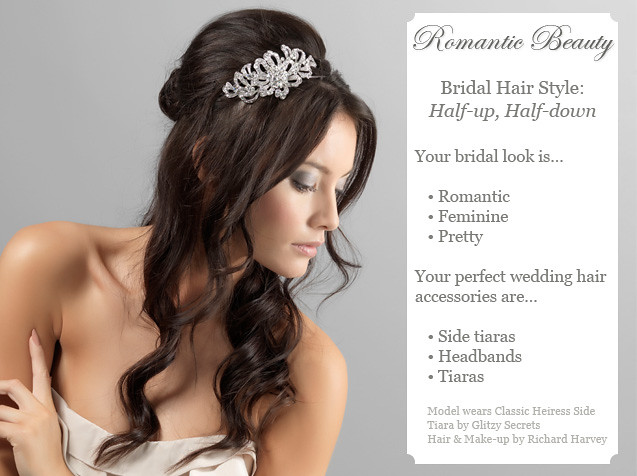 Bridal Hairstyle Half Up So Romantic Take A Peek At