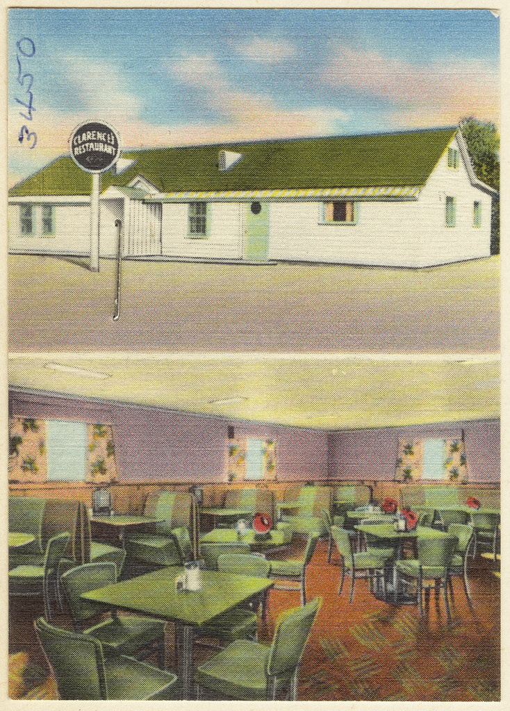 Clarence's Restaurant  File name: 06_10_019991 Title: Clare…  Flickr