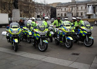 Met Police bikers on the Square | by kenjonbro