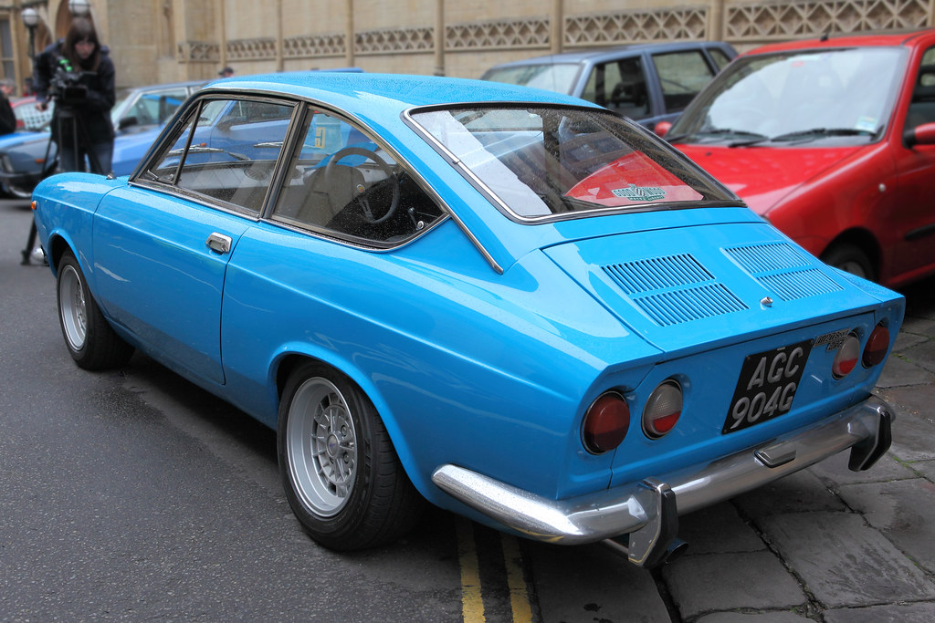 fiat 850 sport coupe rear three quarter view c1969 flickr. Black Bedroom Furniture Sets. Home Design Ideas