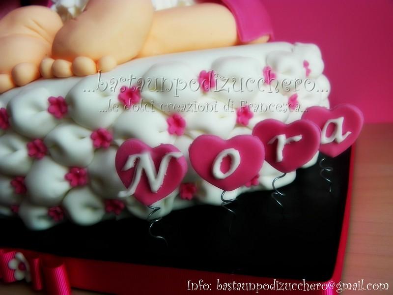Baby rump cake Nora...   bastaunpodizucchero   Flickr