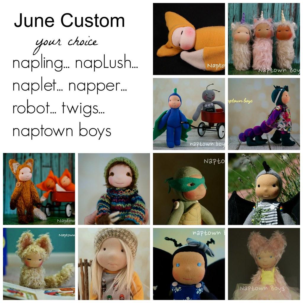 Custom Naptown Boys Doll