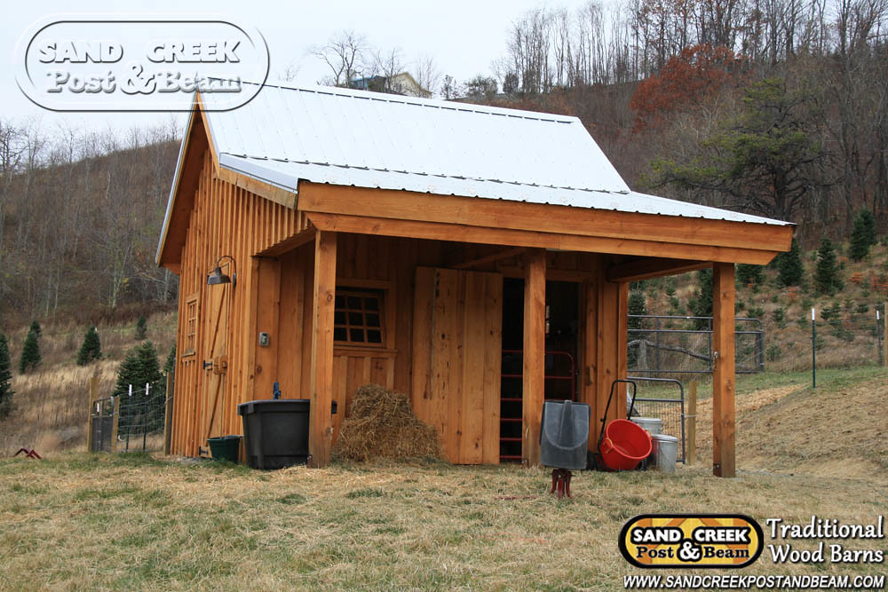 Garden Shed - Sand Creek Post & Beam - Traditional Wood Ba ...