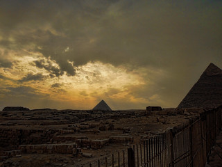 The Pyramids of Giza (Egypt) | by x_spacegirl_x