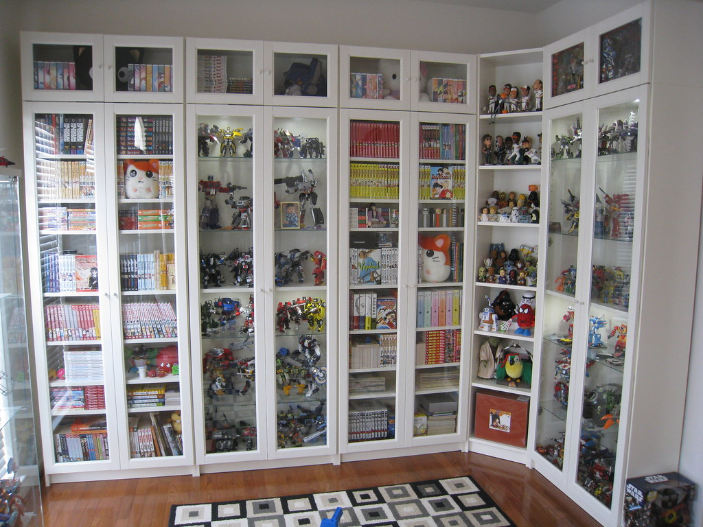 ikea billy bookcases here are some updated photos of our b flickr. Black Bedroom Furniture Sets. Home Design Ideas