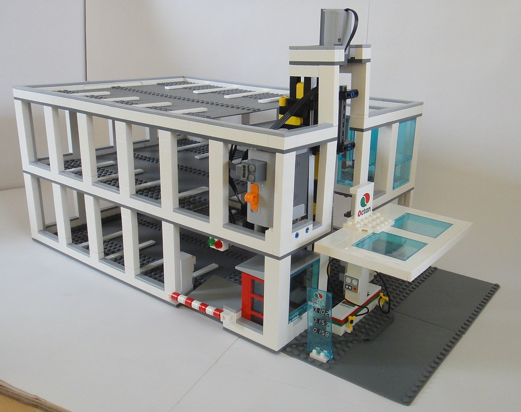 Lego City Car Park My Lego Multistory Car Park With