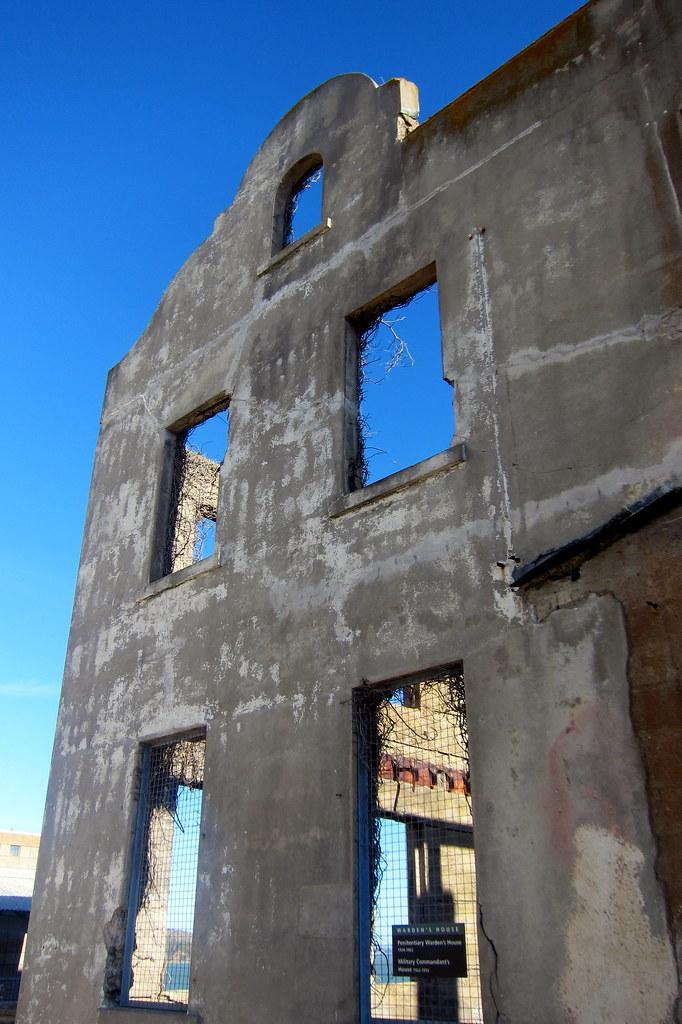 San Francisco Alcatraz Warden S House The Warden S