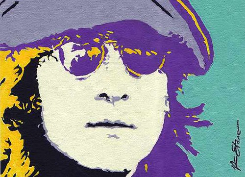 "JOHN LENNON ""Shine On"" 