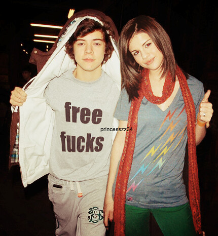 harry styles and selena gomez manip   by princesszz34Harry Styles And Selena Gomez