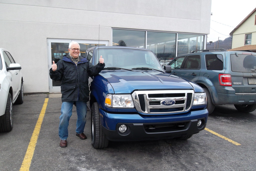 Jim Clinger With His New Purchase A 2011 Ford Ranger Xlt S