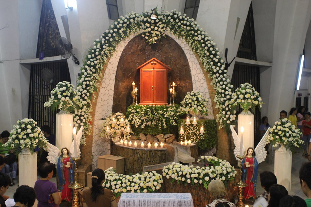 Altar Of Repose Archdiocesan Shrine Of Our Lady Of