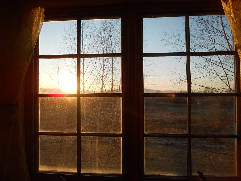 View Out The Window Near Sunrise Laura Blankenship Flickr