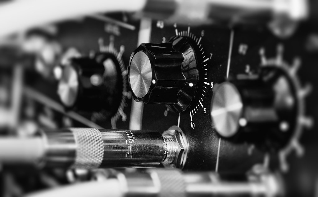 Modular Synthesizer Macro Wallpaper It S An Edit Of A