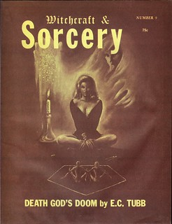 030 Witchcraft and Sorcery (Coven 13) Number 9 1973 Cover by Stephen E. Fabian Includes E. Hoffmann Price's Jade Pagoda Part 4 by  E. Hoffmann Price | by CthulhuWho1 (Will Hart)