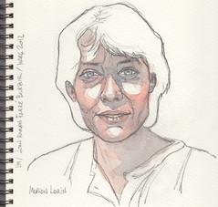 Marion Lokin for Julia Kay's Portrait Party. by Joan Ramon Farré Burzuri