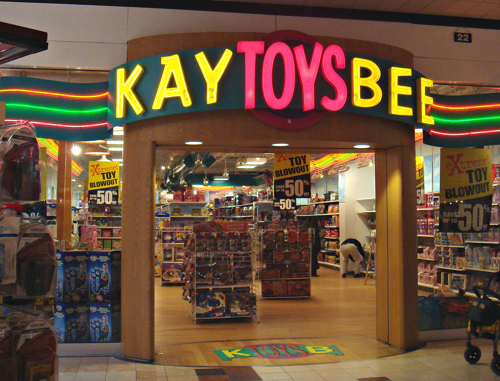K Bee Toys Kay Bee Toys at Whitne...