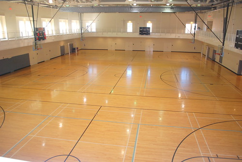 White House Basketball Court Inside The