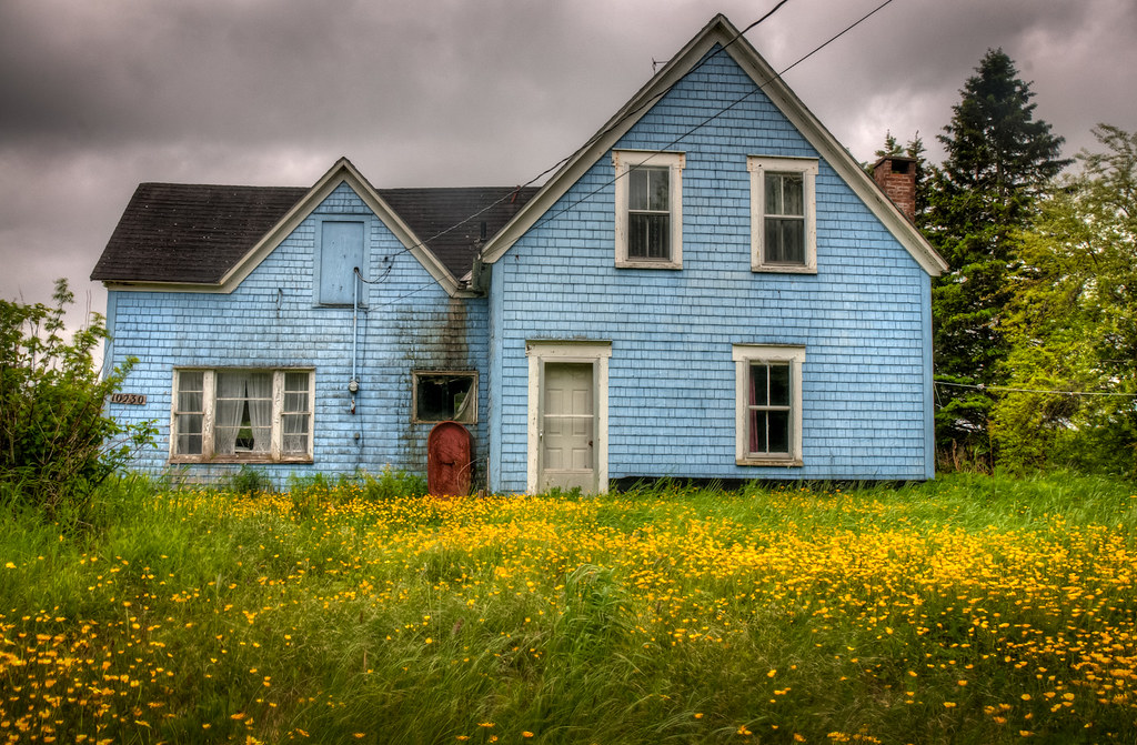 Abandoned House Cape Breton Nova Scotia I Came Upon