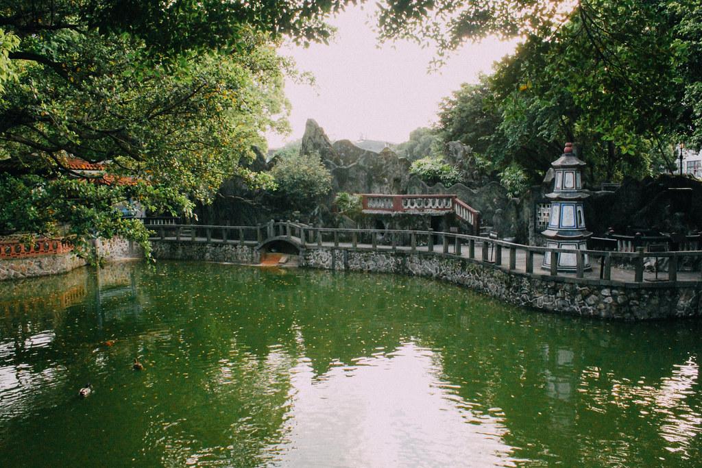 Los Jardines son perfectos para pasear o leer al lado de un estanque