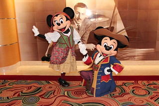 Pirate Mickey and Minnie | by Disney Dan