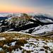 Nightfall at Mt. Hehuan 合歡冬雪 @合歡山