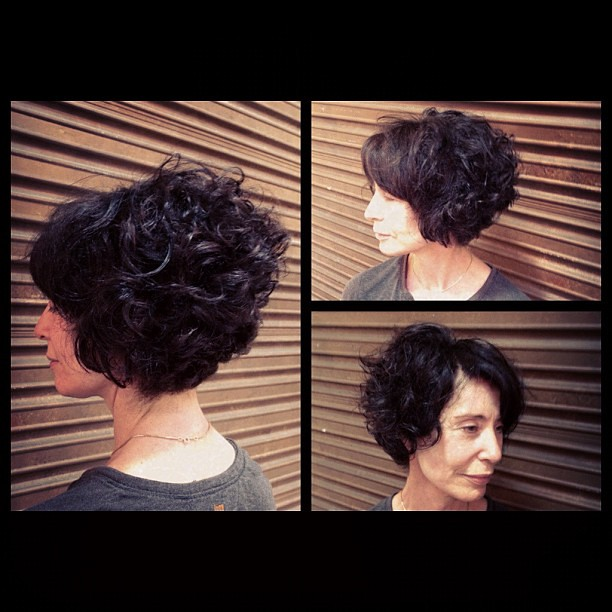 haircuts for short curly hair my clients graduated bob on curly hair cut colour b 1043 | 6854368085 77d50d9552 z