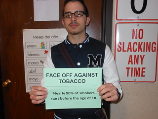FACE OFF AGAINST TOBACCO | by Face Off Against Tobacco Campaign