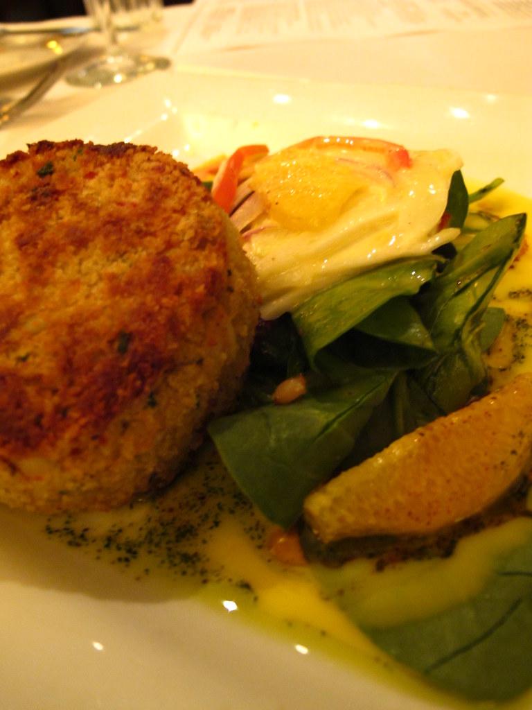 Crab Cake And Avocado Salad Recipe