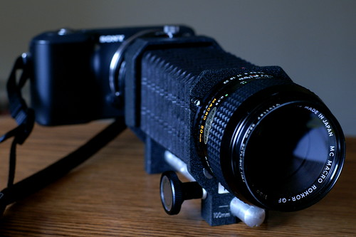 Minolta Iii Bellows With Minolta Bellows Iii