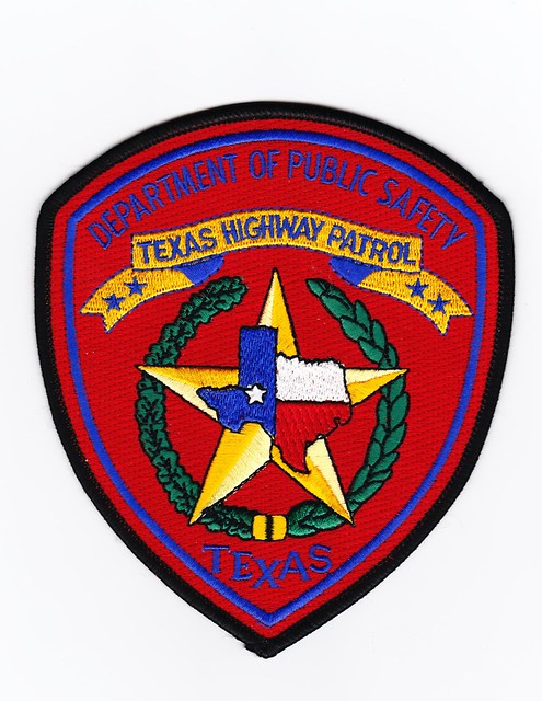Tx Texas Highway Patrol Patch For Waubonsee Community Co Flickr Photo Sharing